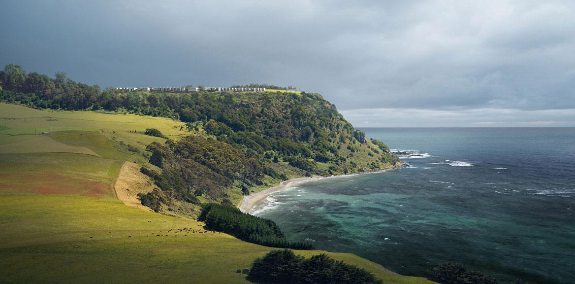 Table Cape Resort headland site   © Silvester Fuller