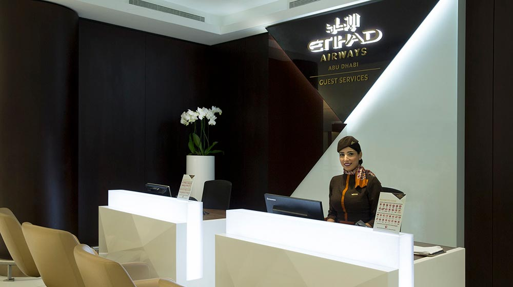 Etihad Airways Premium Check-In