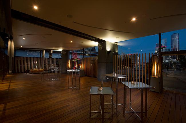 Woodside Terrace Night 650x430 Latte Luxury News