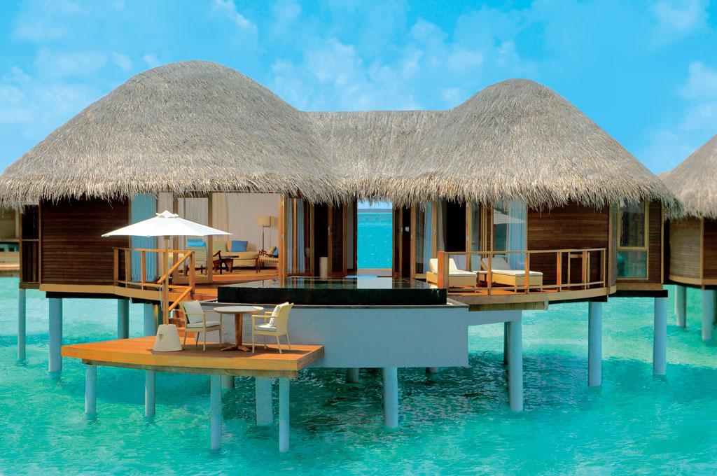 Foto Hotel Constance Halaveli Resort Maldive Overwater