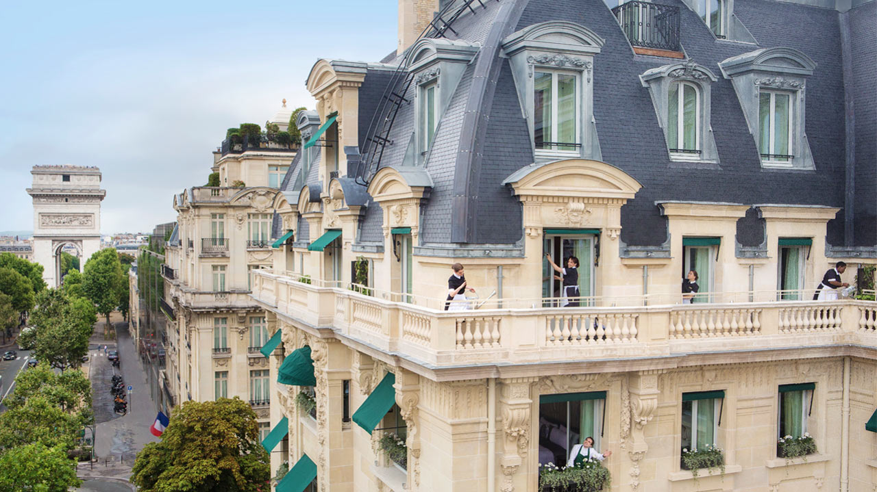 The Peninsula Paris Enhances A Stylish Summer Retreat With