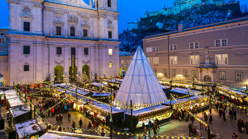 Salzburg Christmas Market | Image credit: Tourism Salzburg