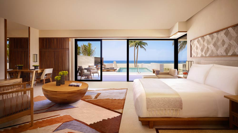 Nobu Hotel Los Cabos | Junior Suite Private Pool, Oceanfront