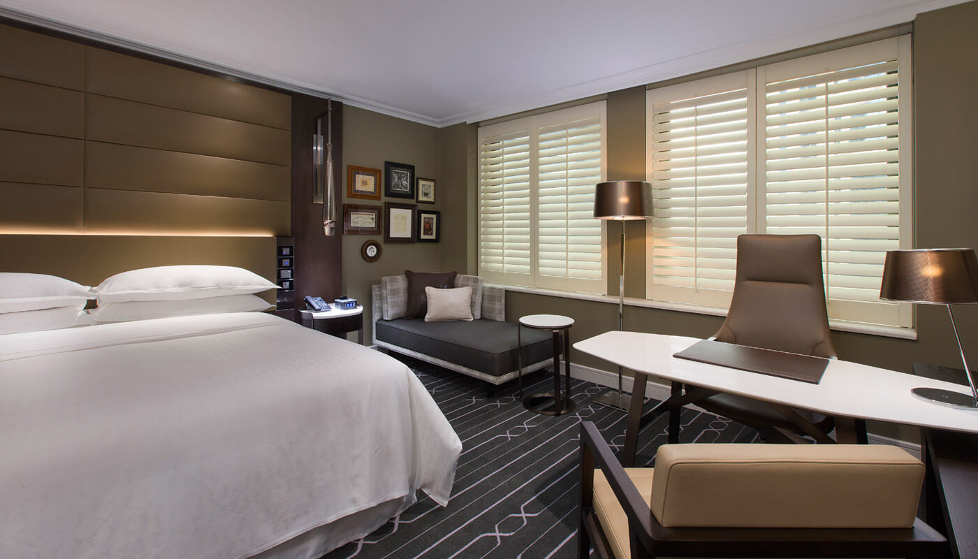 sheraton on the park city side room 1 latte luxury news. Black Bedroom Furniture Sets. Home Design Ideas