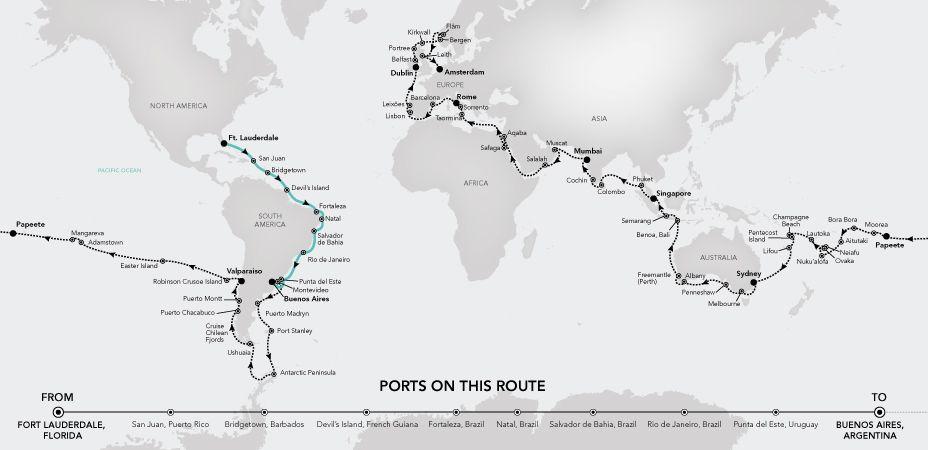 World Cruise 2020.Record Response For Silversea 2020 World Cruise Latte
