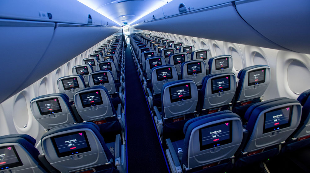 Delta Takes Delivery Of Maiden A220 100 In North America