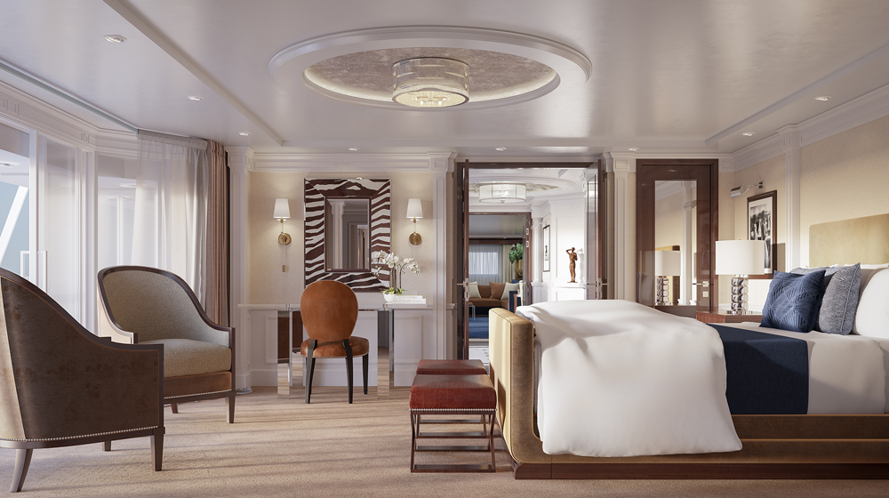 ralph lauren home takes to the seas with oceania latte luxury news. Black Bedroom Furniture Sets. Home Design Ideas