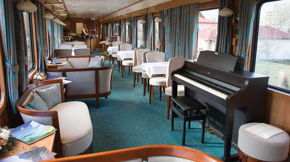 The Golden Eagle Danube Express | Lounge Car