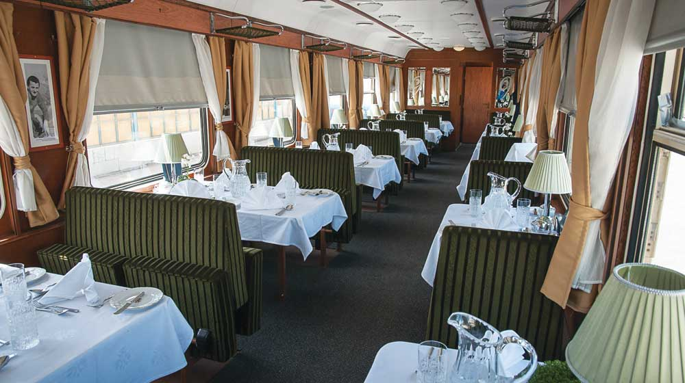 The Golden Eagle Danube Express | Restaurant Car
