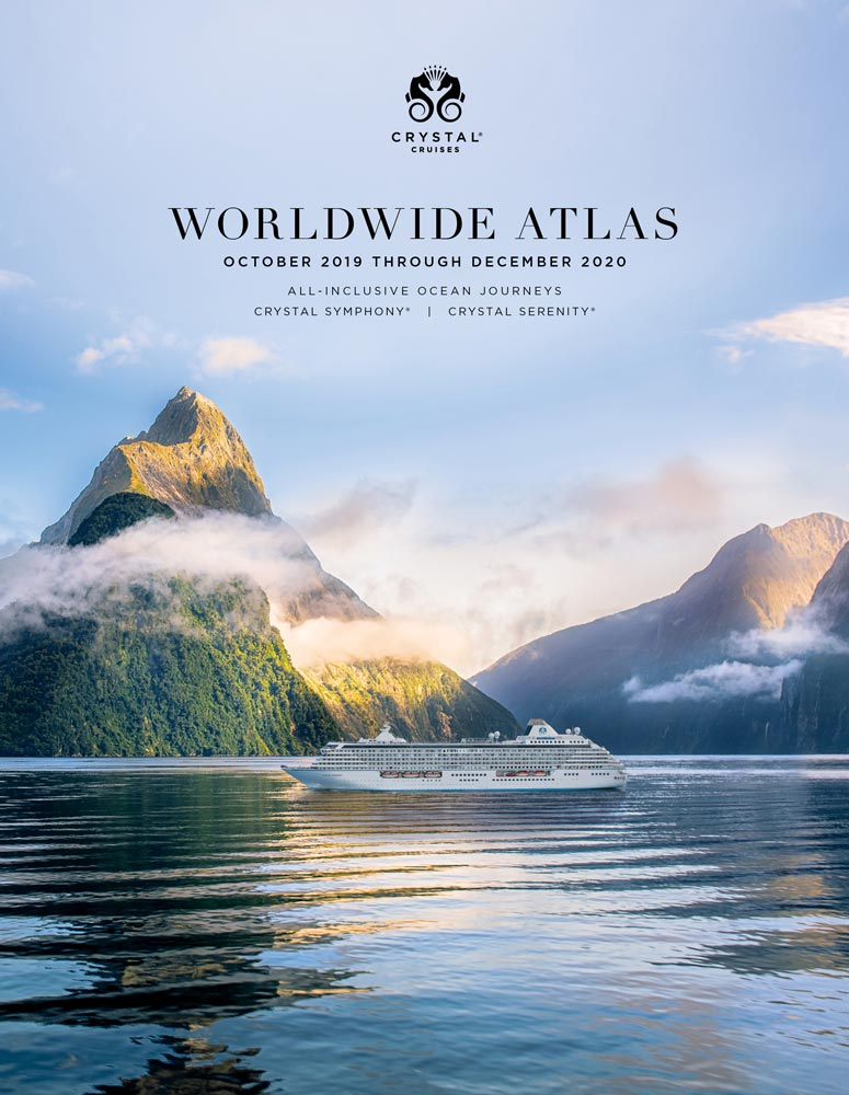 Crystal Cruises World Atlas 2020
