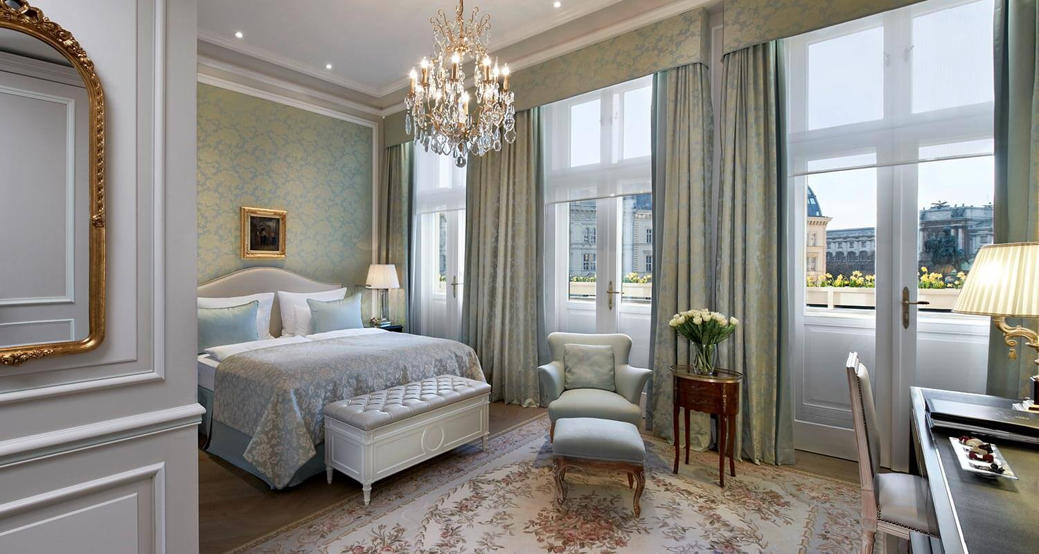 Deluxe Double Room at Hotel Sacher Vienna
