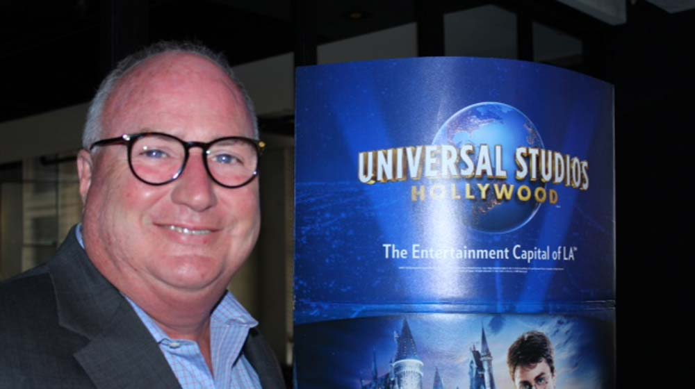 Dennis Quinn, Senior Vice President of Sales, Universal Studios Hollywood