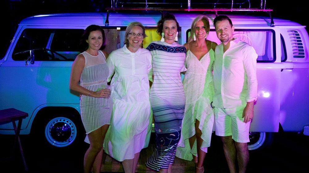 Donna Elliott, GM Victoria/Tasmania; Julia Leary, Cruise Boutique; Anna Burgdorf. GM Marketing;, Danielle Galloway, GM Premium FCTG; Andrew Boyce, GM South Australia/Western Australia.