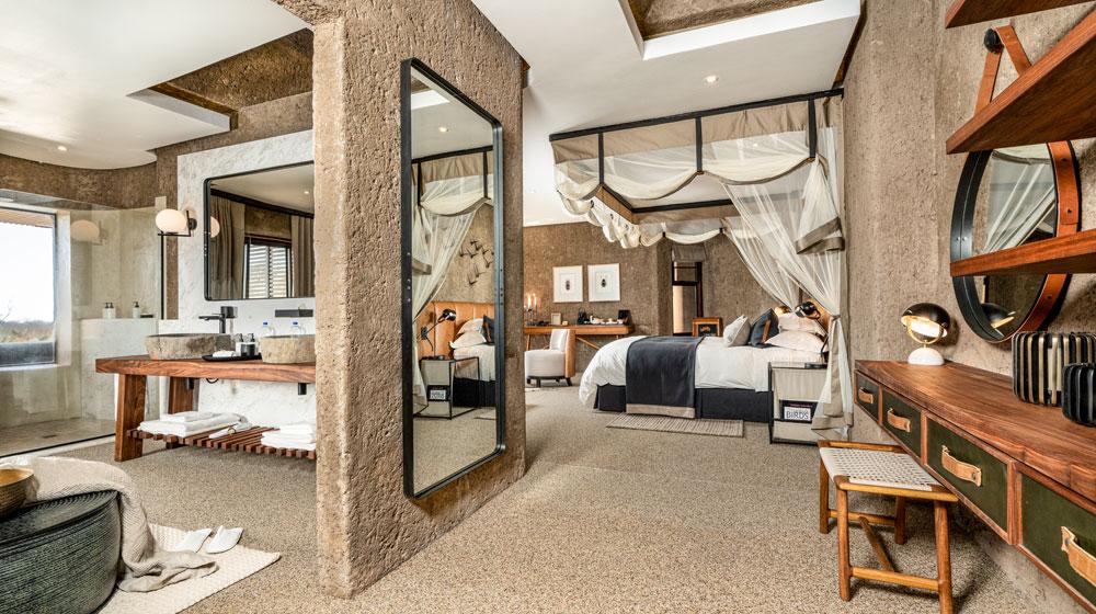 Sabi Sabi Earth Lodge | Lux Suite Dressing Area