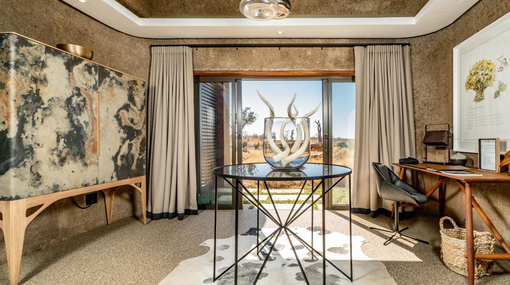 Sabi Sabi Earth Lodge | Lux Suite Entrance