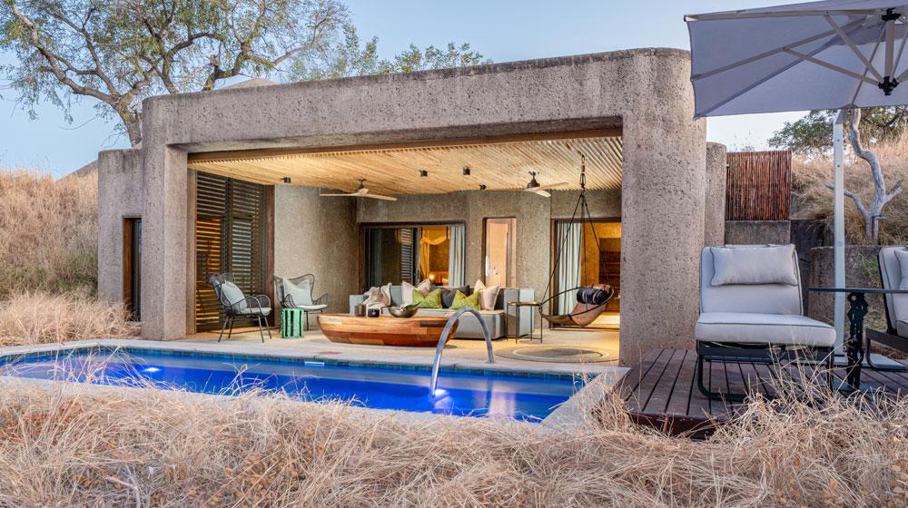 Sabi Sabi Earth Lodge | Lux Suite Exterior