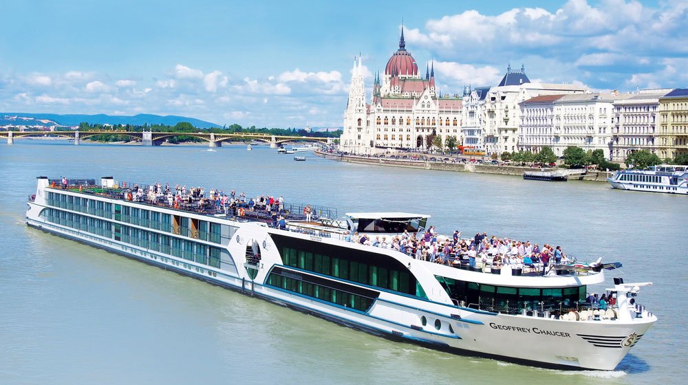 Riviera Travel River Cruises' Geoffrey Chaucer will launch in April 2020