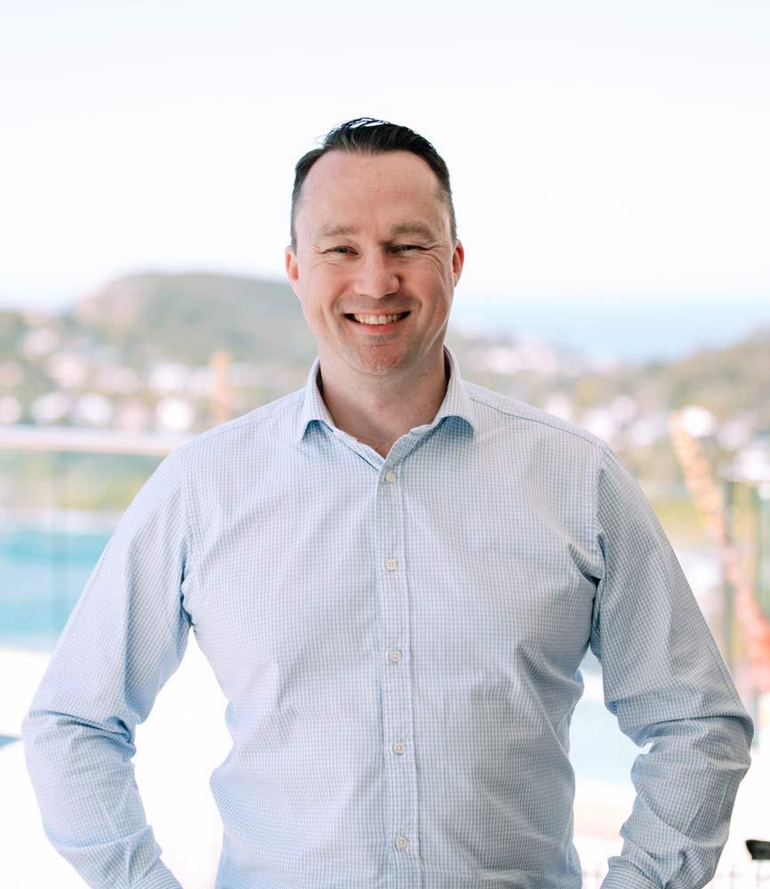 Luxury Escapes CEO Cameron Holland