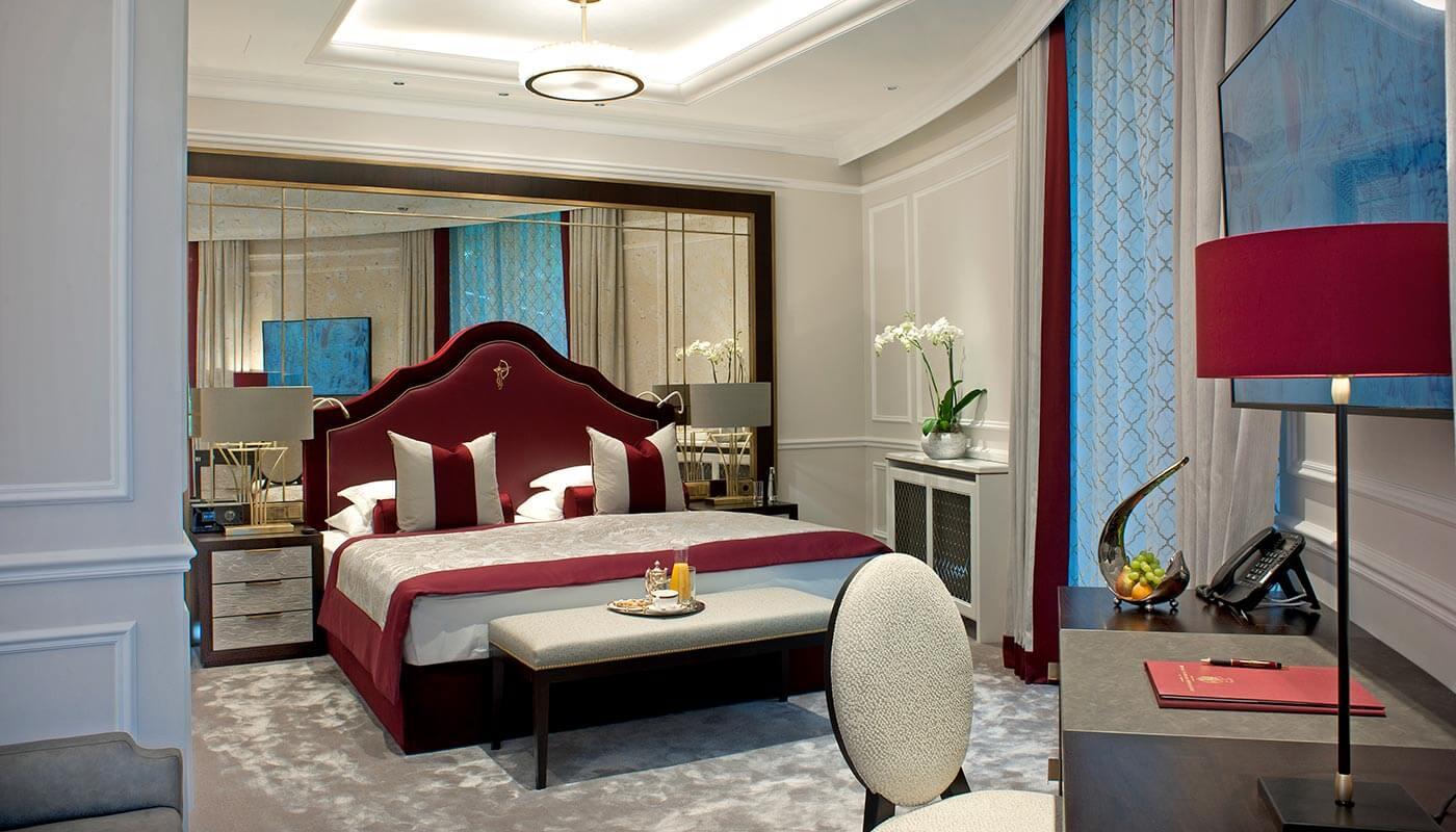 Junior Suite at hotel Schloss Mönchstein &cop
