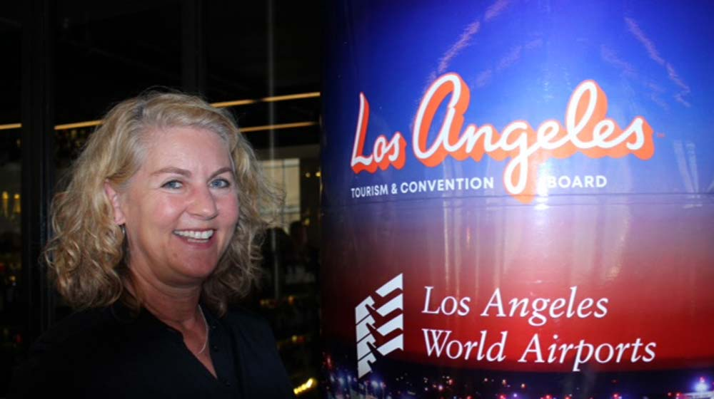 Kathy Smits, Vice President International, Los Angeles Tourism and Convention Board