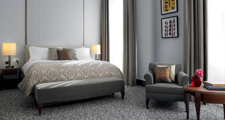 Premium room at Ritz Carlton Vienna