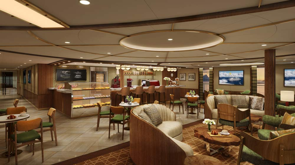 Seabourn expedition ships | Seabourn Square cafe