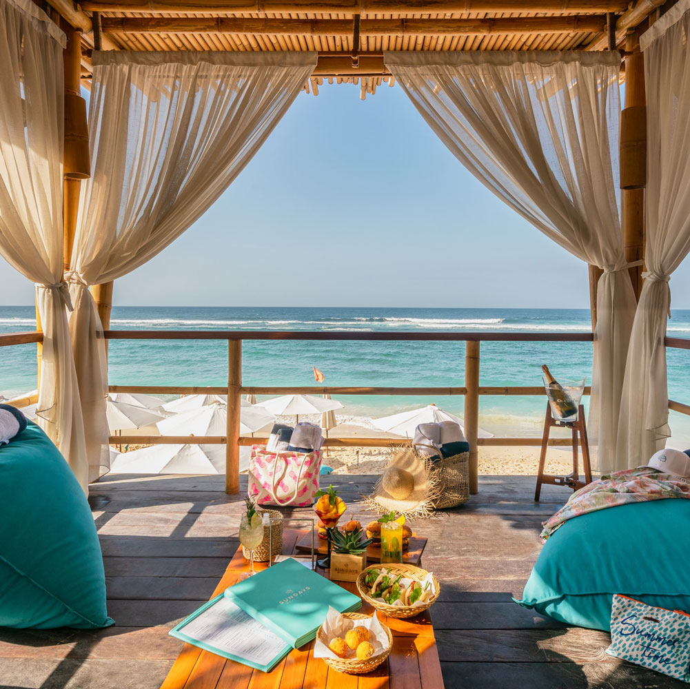 Ungasan Introduces New Vip Beach Bungalows