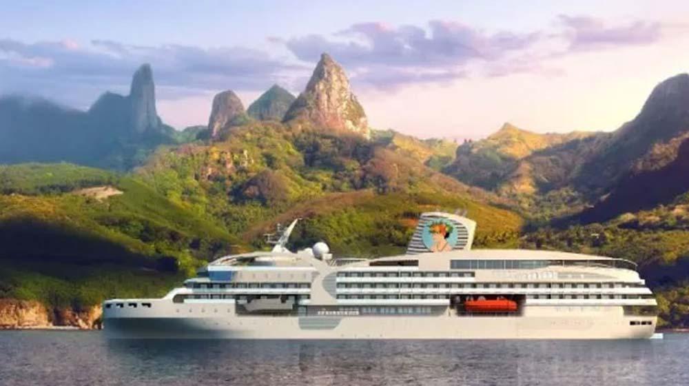 Aranui Cruises' next vessel will be a luxury cruise ship