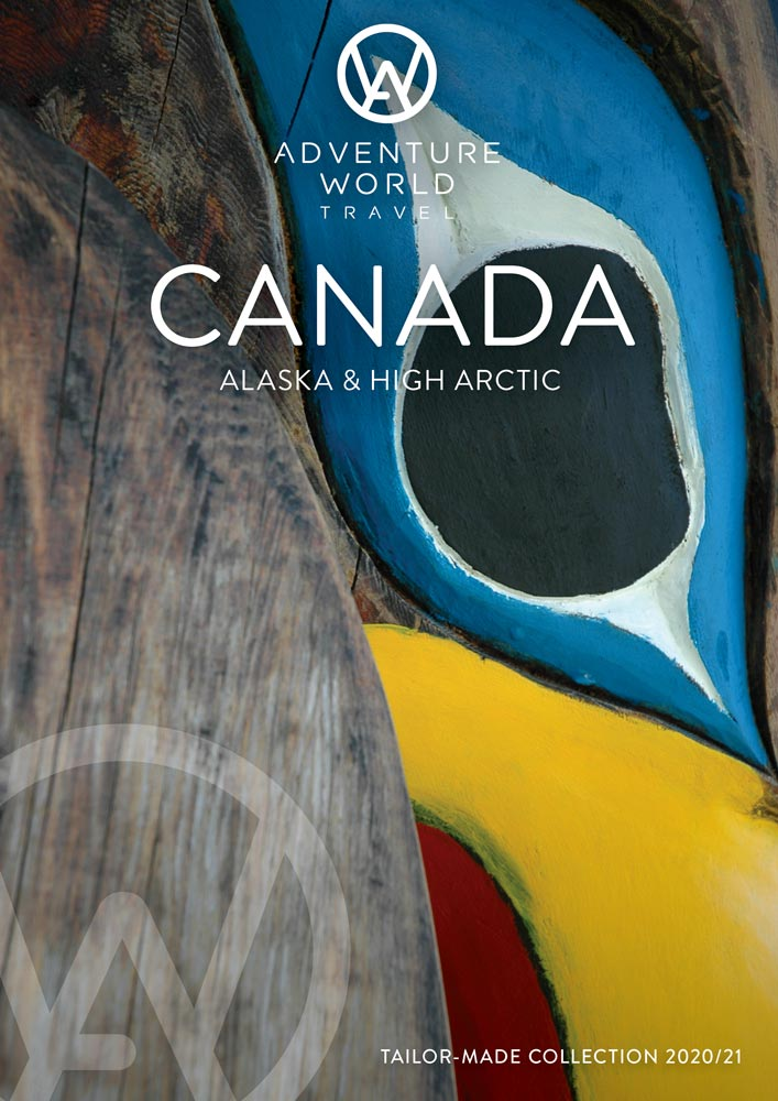 adventure world 2020 Cananda brochure cover