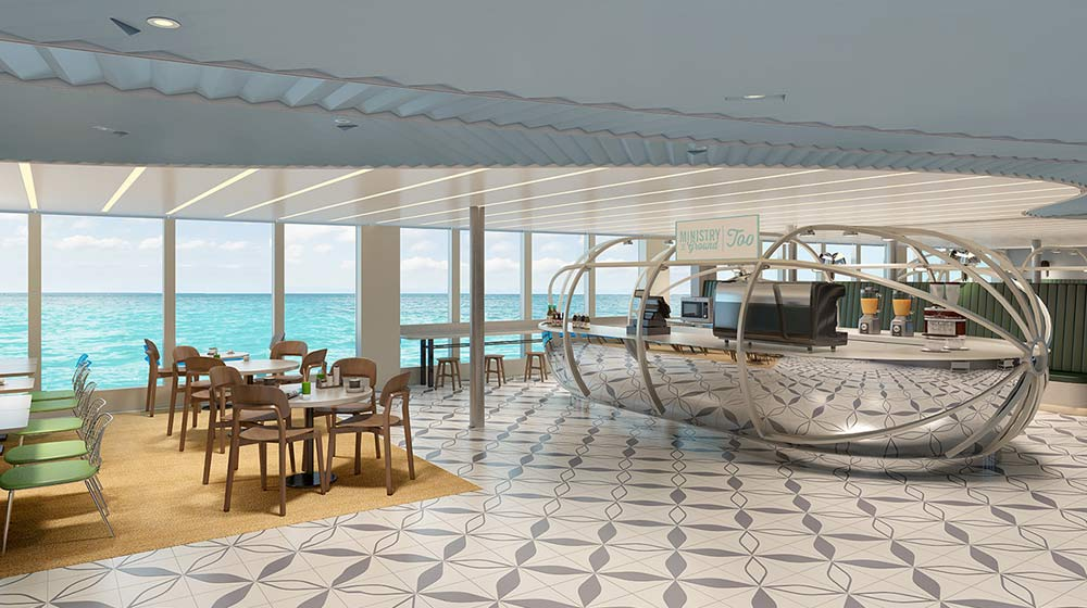 Virgin Voyages has partnered with the sustainable company Intelligentsia Coffee as its exclusive coffee provider