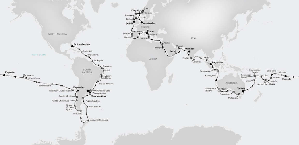 World Cruise 2020.Silversea Names Exec Officers For World Cruise 2020