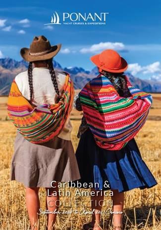 Ponant 2020 21 caribbean brochure cover