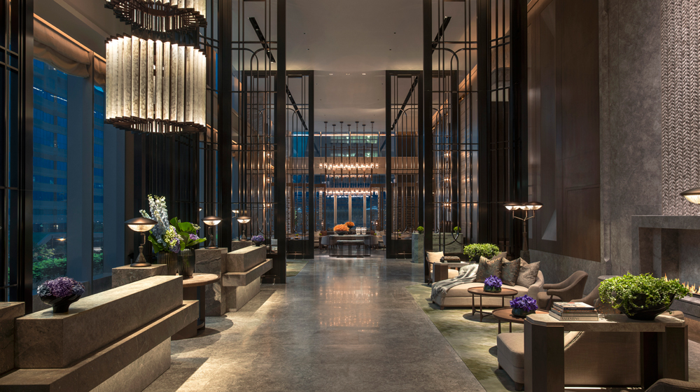 St Regishk Great Room Night Latte Luxury News