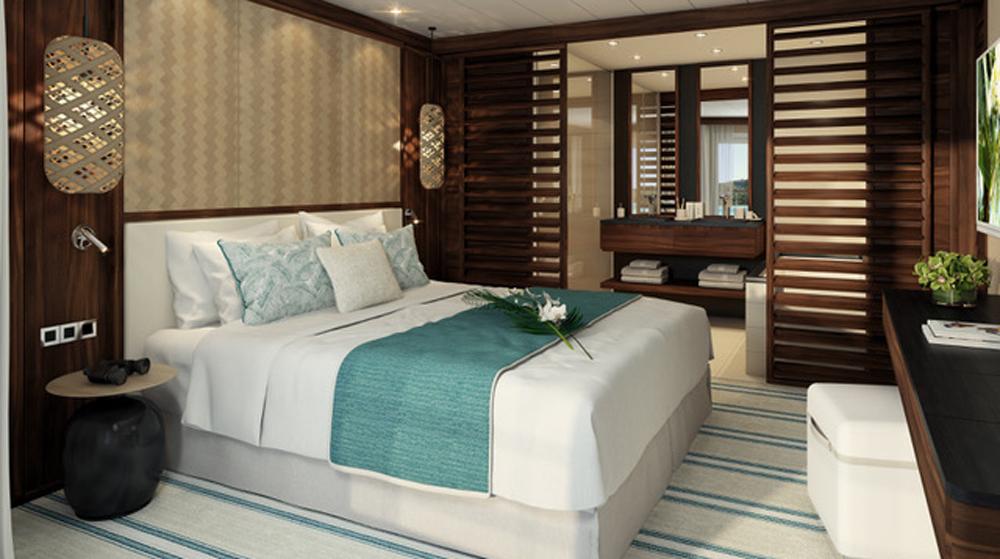 Le Paul Gauguin Tiara Suite bedroom
