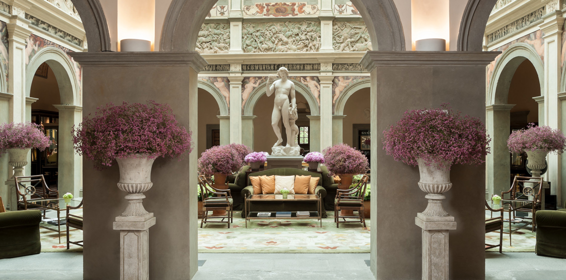Lobby of Four Seasons Hotel Firenze