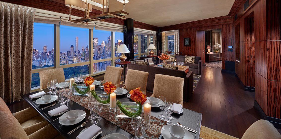 Mandarin Oriental New York Suite