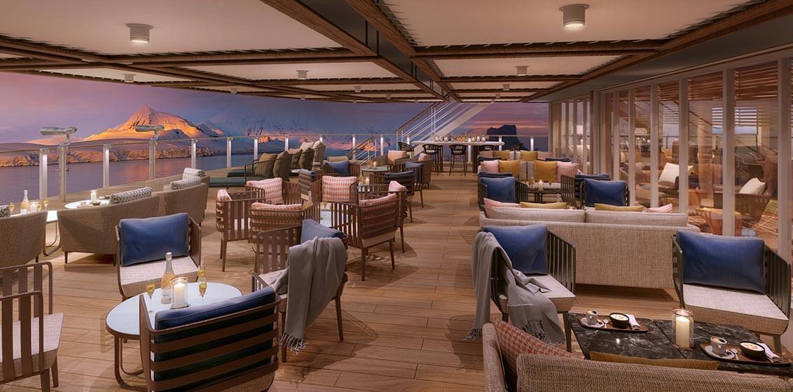 Seabourn Square deck