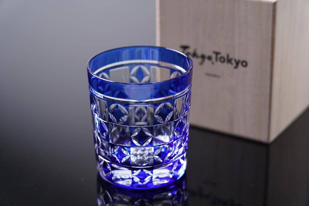 Edo kiriko Tokyo glasses
