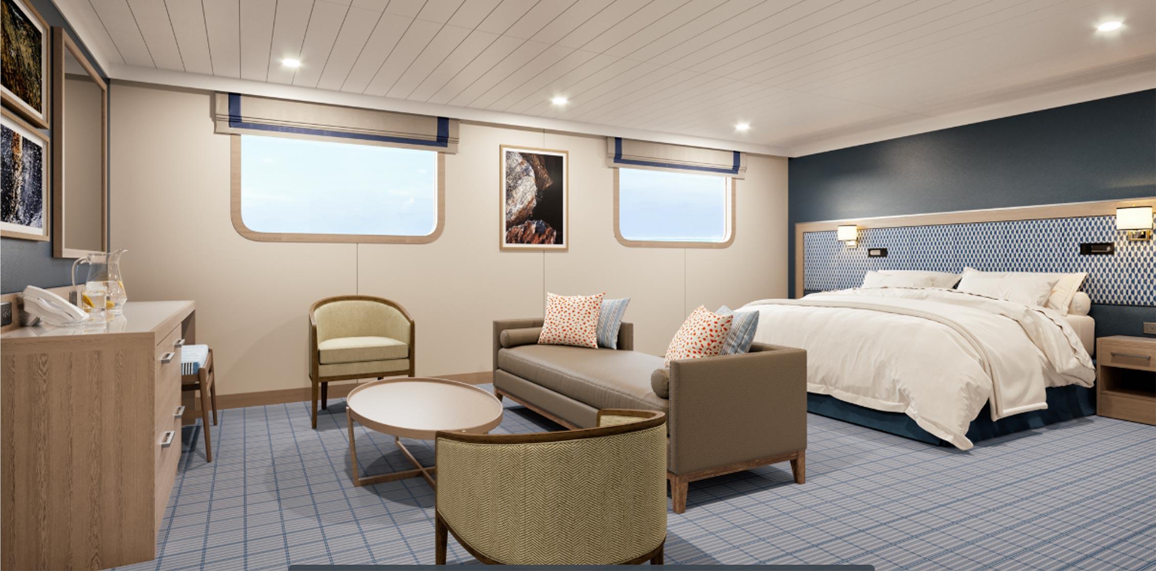 Darwin suite Panorama deck